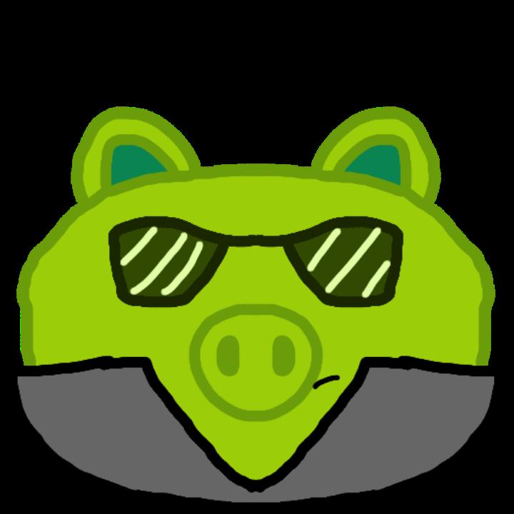 Hacker pig