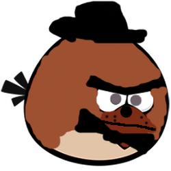 Personajes de Angry Birds Fnaf