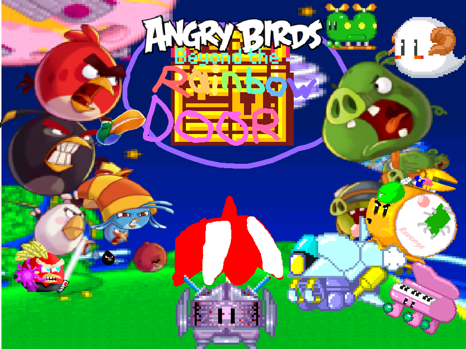 Angry Birds: Beyond the Rainbow Door