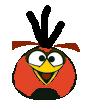Red-Orange Bird AB Fritos