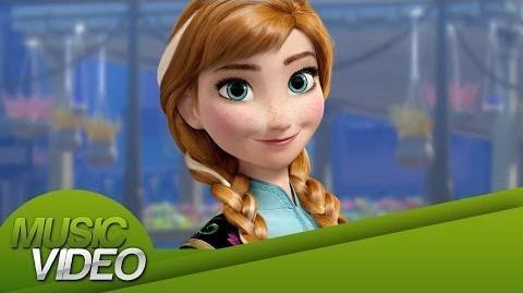 Music - Video - Frozen Una Aventura Congelada - ¿Y si hacemos un muñeco? - HD