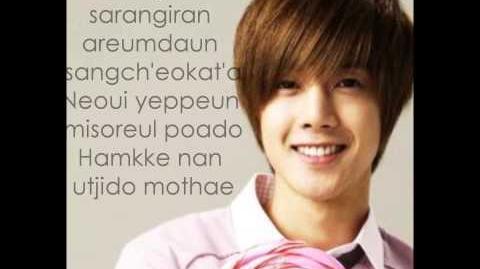 Because I'm Stupid-Kim Hyun Joong (Letra)-0