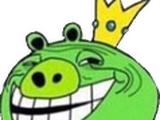 Troll Face King Pig