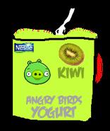 Angry Birds Kiwi Yogurt