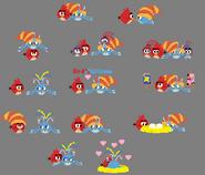 Red X Willow - Pixel Doodles