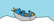 Blue Bird Winter Olympics