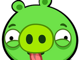 Pig That Dose Nothing In Angry Birds But Hes A Bird