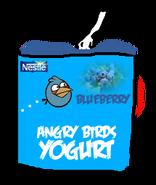 Angry Birds Blueberry Yogurt