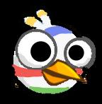 Stripes Bird
