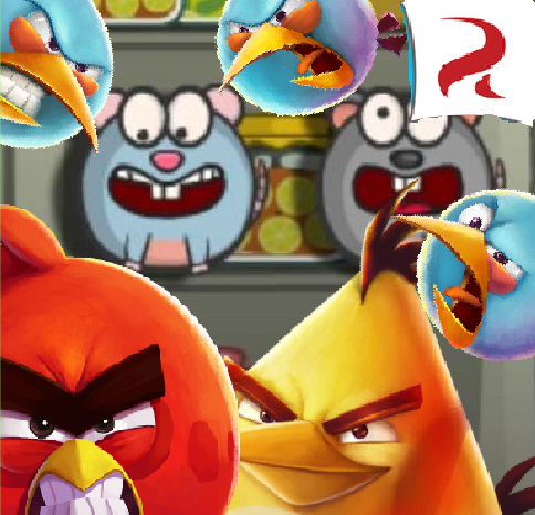 Angry Birds: Rats Invasion