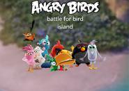 Angry birds - battle for the bird island main menu