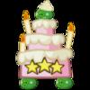 Birthday Cake Trio