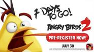Angry Birds 2 - Faltam 7 Dias