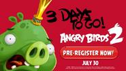 Angry Birds 2 - Faltam 3 Dias