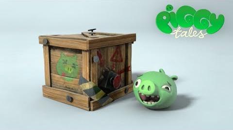 Piggy Tales Push Button