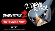 Angry Birds 2 - Faltam 2 Dias