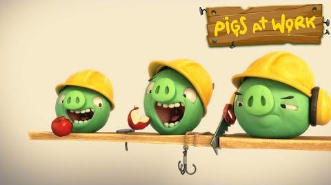 "Piggy Tales Pigs at Work - ""Lunch Break"""