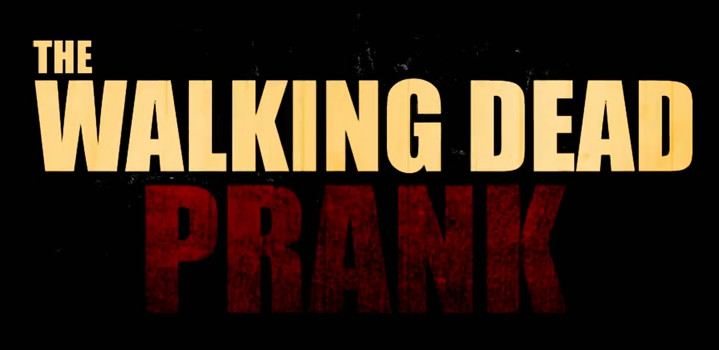 THE WALKING DEAD PRANK!