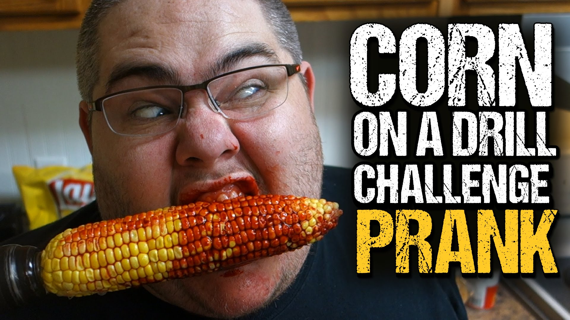 THE CORN ON A DRILL CHALLENGE (PRANK!)