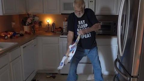 ANGRY GRANDPA DESTROYS PICKLEBOY'S KITCHEN!