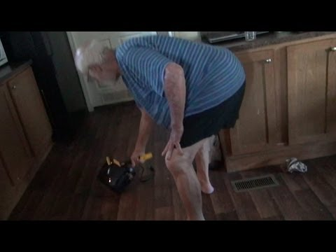 GRANDPA DESTROYS A TOASTER