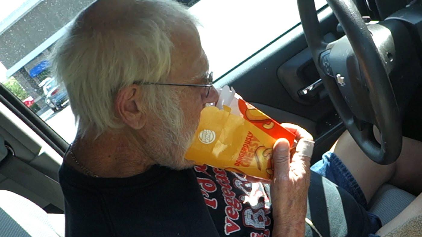 Angry Grandpa HATES Burger King Mac N' Cheetos!