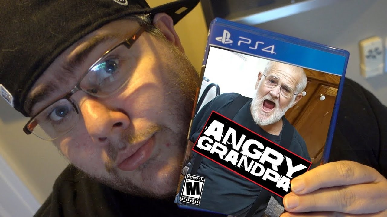 THE ANGRY GRANDPA VIDEO GAME! (March 2017 episode)