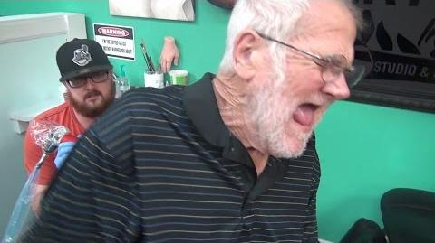 ANGRY GRANDPA'S TATTOO MELTDOWN!