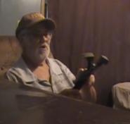 Angry Grandpa Holding The Annihilator.