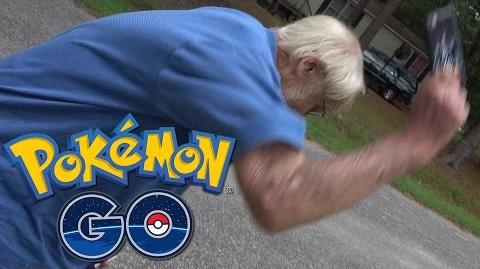Angry Grandpa Plays Pokémon GO!