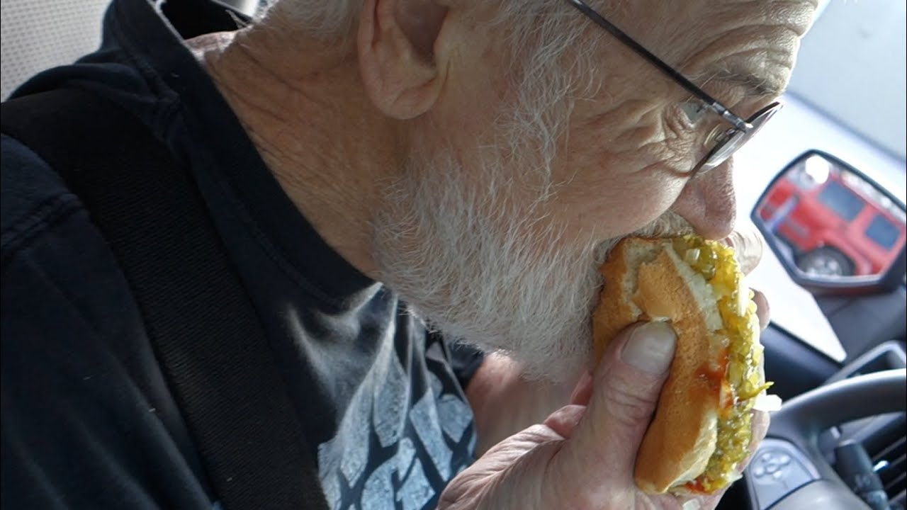 Angry Grandpa - The Burger King Grilled Hot Dogs!