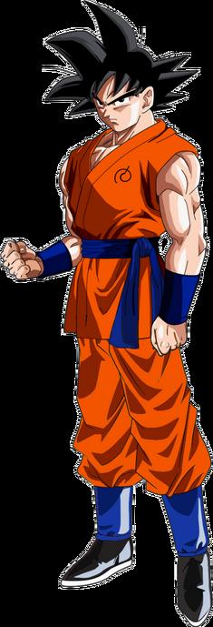 Goku render by los guerreros z by los guereros z-d8jbu4k.png