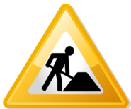 Under contruction icon-yellow