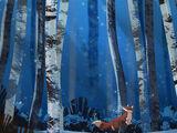 Snowy Woodlands