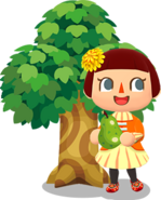 Art-villager-tree