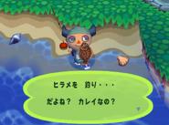 Olive Flounder (Animal Forest e+)