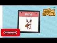 Animal Crossing- New Horizons - Celebrate These June Activities! - Nintendo Switch