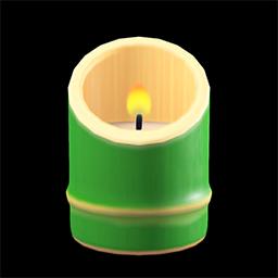 Bamboo candleholder