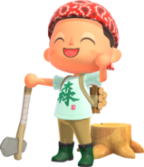 Animal-Crossing-New-Horizons Characters-Axe