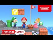 Animal Crossing- New Horizons x Super Mario Collaboration Items - Nintendo Direct 2.17