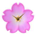 NH Craft Cherry-blossom clock
