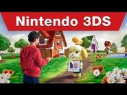 Nintendo 3DS - Animal Crossing- New Leaf TV Commercial