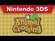 Nintendo 3DS - Animal Crossing- New Leaf Trailer
