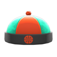 NH-Hat-Silk hat green