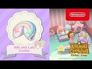 Animal Crossing- Pocket Camp - Kiki and Lala Cookie