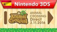 Animal Crossing Direct - 02.11
