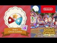 Animal Crossing- Pocket Camp - Bob's Circus Cookie