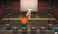 Sitting Down at K.K. Slider's Concert