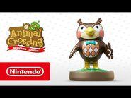 Animal Crossing- New Leaf - Welcome amiibo - Blathers (Nintendo 3DS)