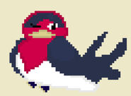 Taillow Off-Topic Pixel Art Request by @MxgicalJennifer